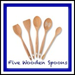 FiveWoodenSpoons