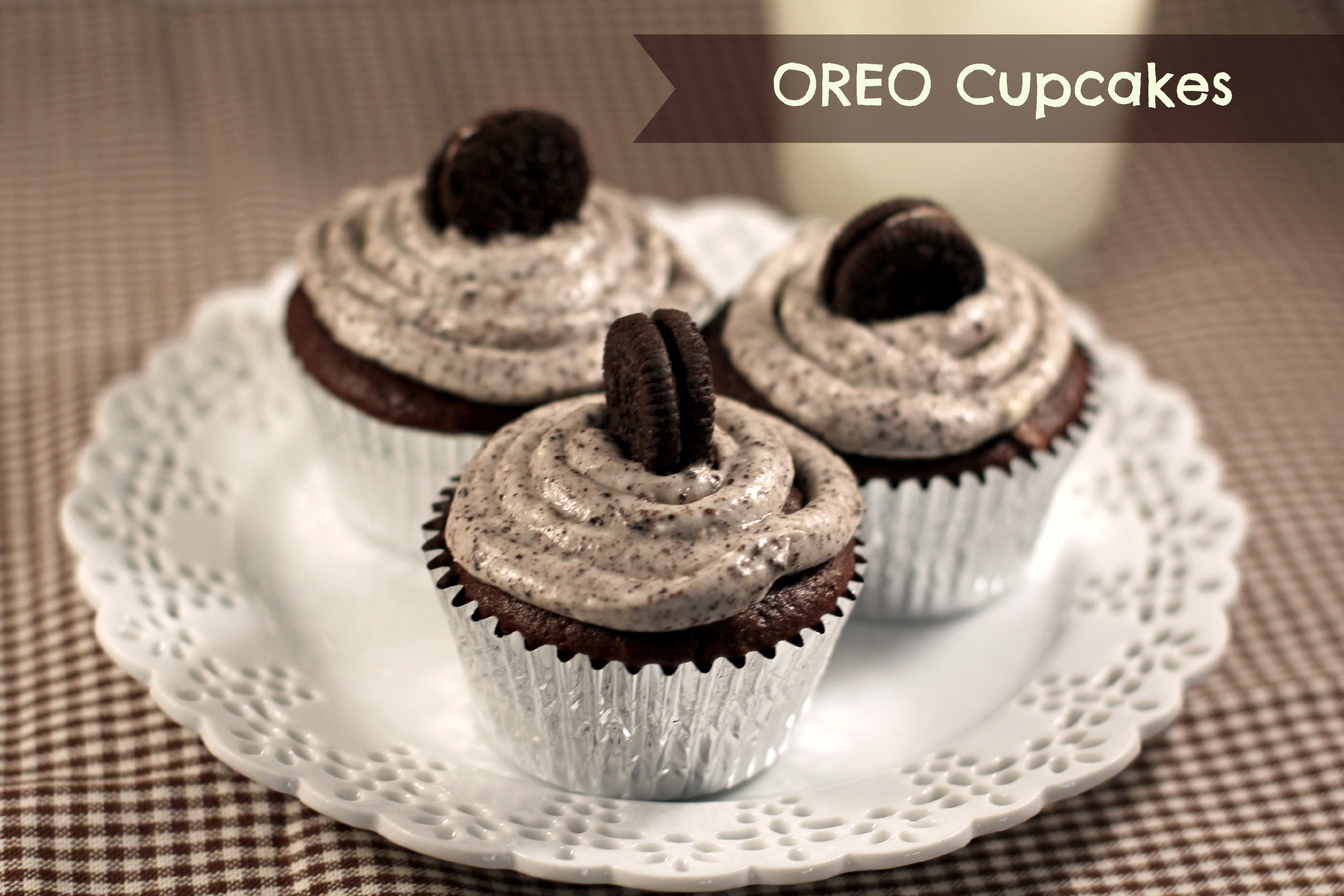 Free Download Birthday Cake Oreo Cupcakes Yummy For Kids HD Wallpaper