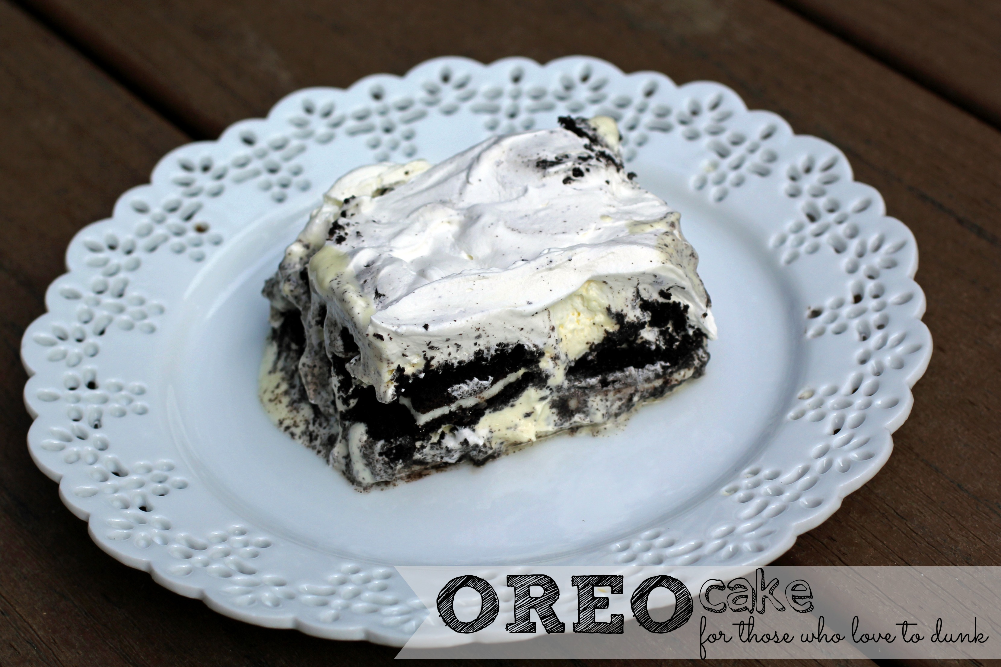 OREO Cake Creation | Five Wooden Spoons